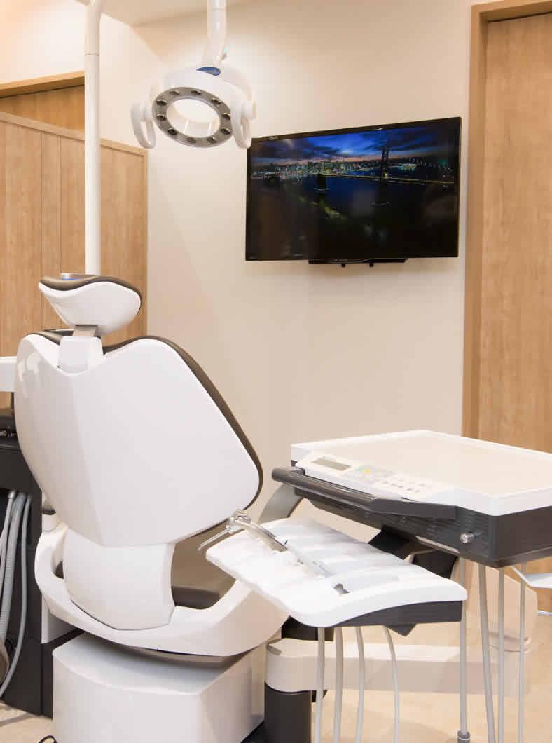 神戸市垂水区の歯医者オリーブ歯科クリニックの治療室