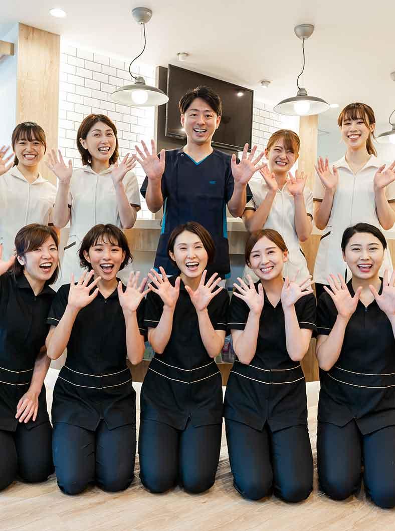 神戸市垂水区の歯医者オリーブ歯科クリニックのスタッフ