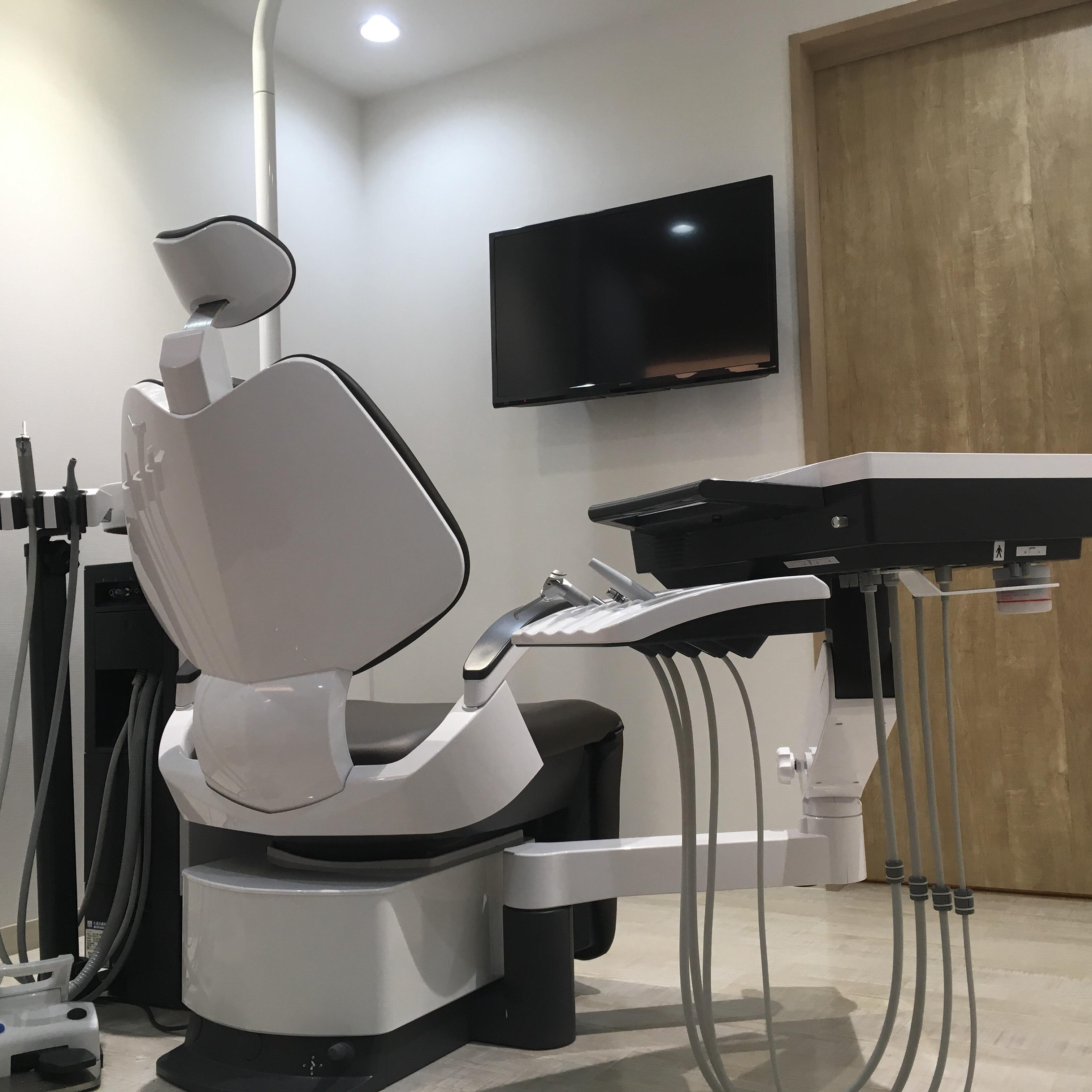 神戸市垂水区のオリーブ歯科クリニック 新しい診療歯科チェア