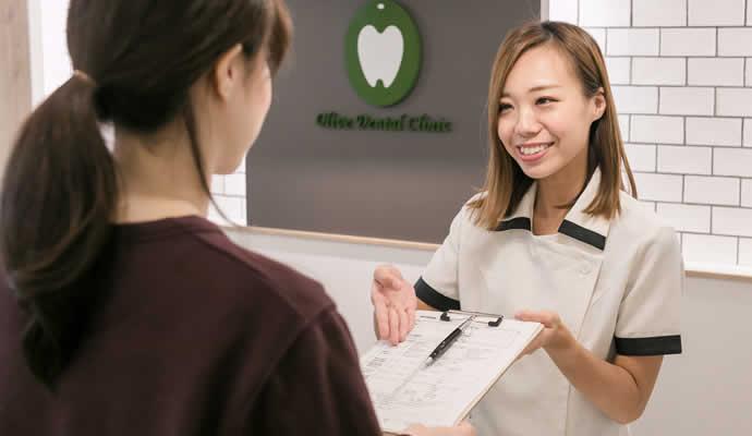 歯科助手・受付の受付対応・会計処理