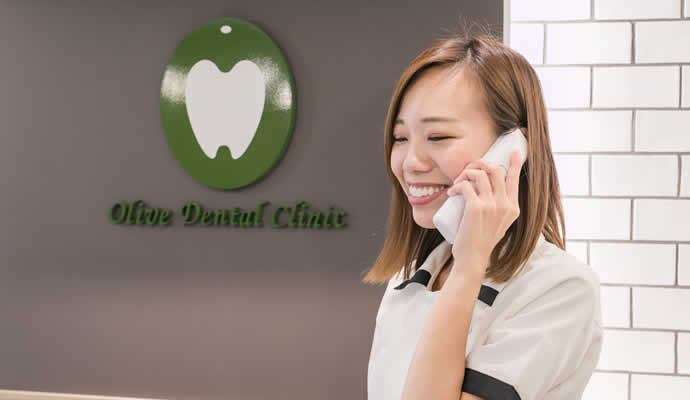 歯科助手・受付の電話受付