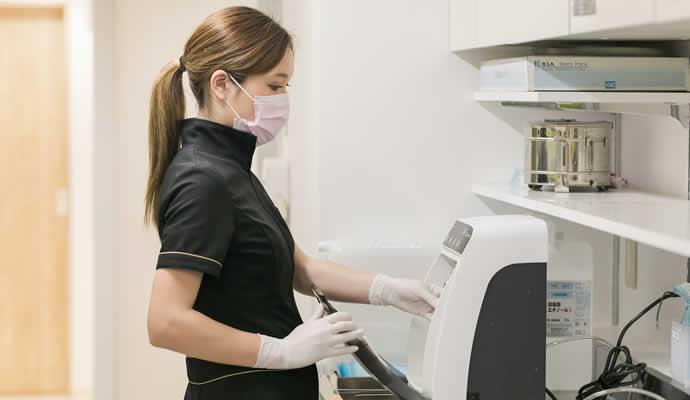 歯科助手・受付の治療器具の洗浄・滅菌