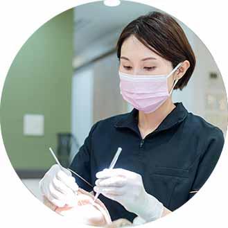歯科衛生士と歯科助手での院内勉強会